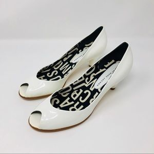 🆕 MARC by MARC JACOBS white patent leather shoes